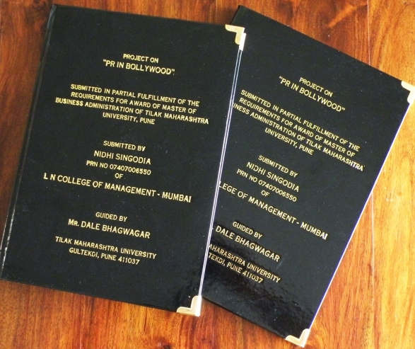 Theses & dissertations press