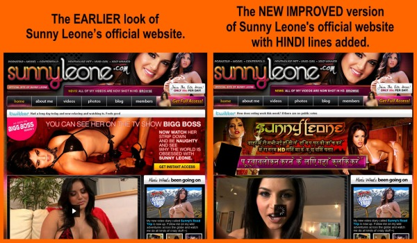 Currently lodged in Bigg Boss, international porn star Sunny Leone has a new ...