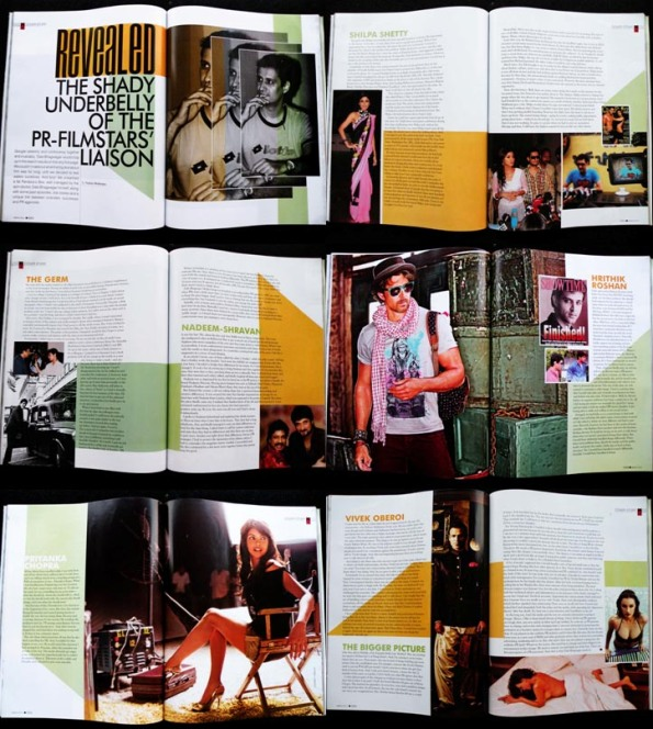 Mandate Cover Story - 12 Inside Pages