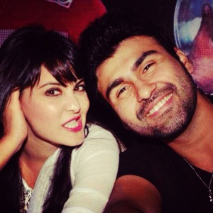Aarya Babbar and Minissha Lamba - Pic 2 (Image courtesy - Internet)
