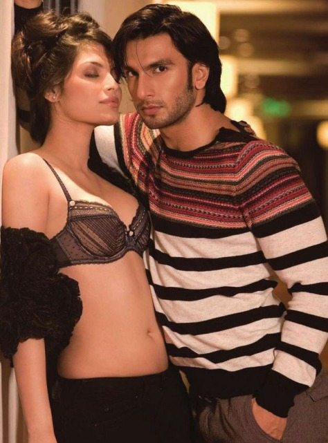 Ranveer Singh and Sonali Raut in Maxim magazine. - Pic 2