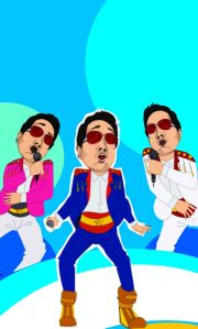 Mika Singh in the animated song from Hogaya Dimaagh Ka Dahi. - Pic 4