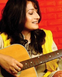 Writer-director-producer-music composer Fauzia Arshi of Hogaya Dimaagh Ka Dahi.