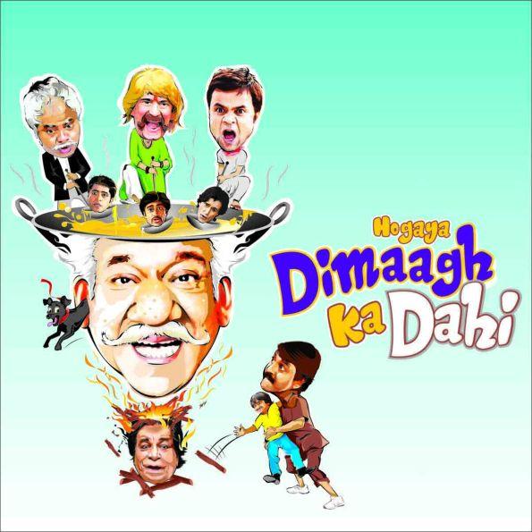 Hogaya Dimaagh Ka Dahi - Poster 1