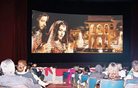 An earlier screening of Taj Mahal - An Eternal Love Story