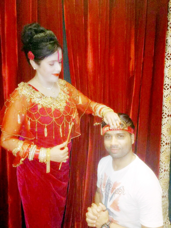 When Himaanshu Shukla interviewed Radhe Maa
