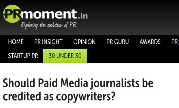 PR news of film publicist Dale Bhagwagar