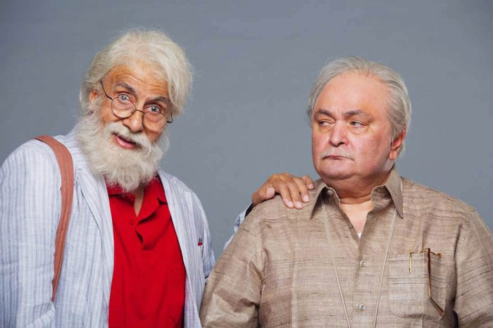 Amitabh Bachchan and Rishi Kapoor in 102 Not Out. (Image courtesy - Google)