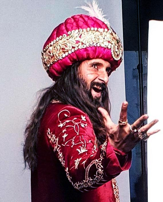 Ravi Dubey as Alauddin Khilji in Sabse Smart Kaun. Pic 3. (Image courtesy - Instagram)