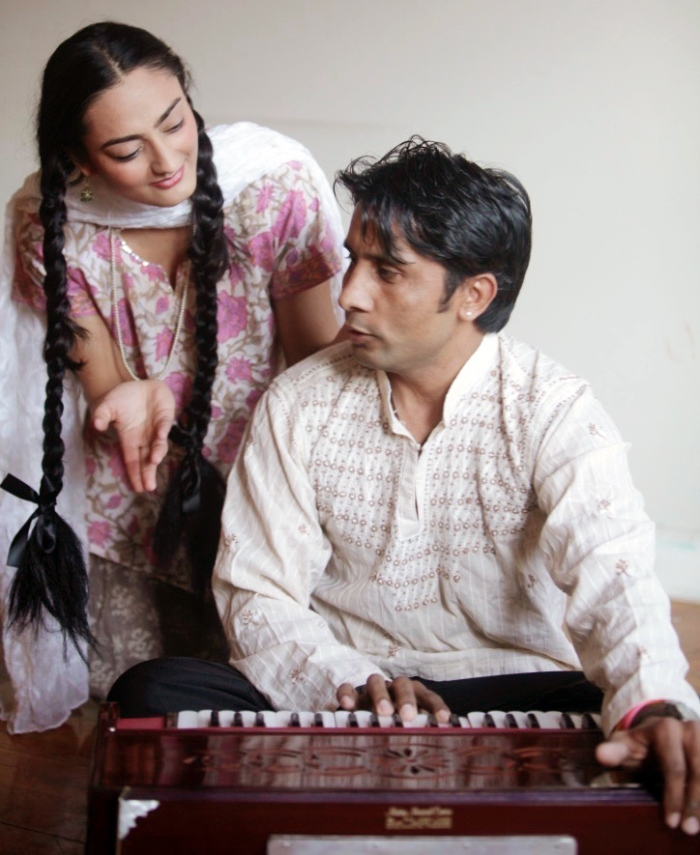 Ashok Chaudhary in the play The Music In My Blood. Pic 1.
