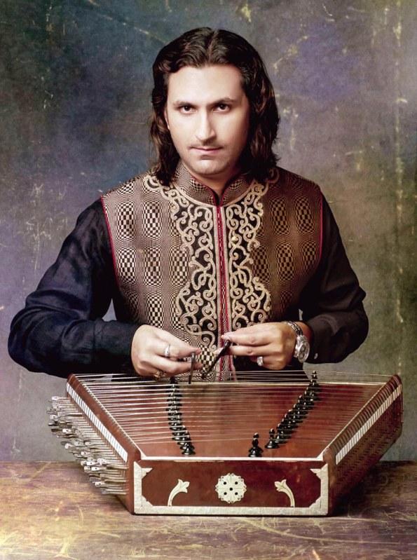 Santoor maestro Rahul Sharma